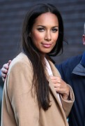 Leona Lewis leaving the London Studios, 9 December, x9
