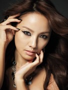 Hyori Lee - Clio's Waterproof Pen-liner &amp;quot;Kill Black&amp;quot;  Photoshoot - x4 MQ