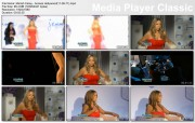 "Mariah Carey - Interviews in Vintage Red Halston Dress (x3) + ""Extra"" Interview"