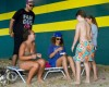 Rihanna rend visite à des amis en Barbade. 148d57167205976