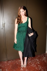 Kate Mara @ Zac Posen Fall 2012 Fashion Show February 12, 2012 HQ x 8