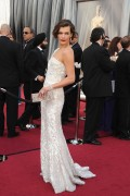 Милла Йовович, фото 2008. Milla Jovovich 84th Annual Academy Awards - February 26, 2012, foto 2008