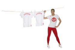 Джемма Аткинсон, фото 840. Gemma Atkinson modelling the Sport Relief 2012 shirt, foto 840