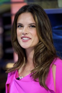 Алессандра Амброзио, фото 8183. Alessandra Ambrosio On 'El Hormiguero' TV Show in Madrid, 05.03.2012, foto 8183