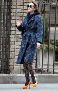 Лейгтон Мистер, фото 6856. Leighton Meester On the Set of 'Gossip Girl' in Manhattan - 05.03.2012, foto 6856