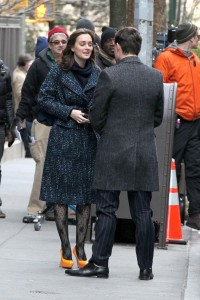Лейгтон Мистер, фото 6882. Leighton Meester On the Set of 'Gossip Girl' in Manhattan - 05.03.2012, foto 6882