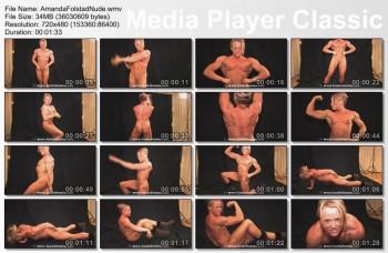 Nude female bodybuilder amanda folstad