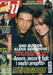 Chi Magazine  GianLuigi Buffon   Alena Seredova