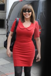Carol Vorderman Outside the London Studios 23rd March x25