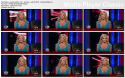 COURTNEY FRIEL wow - Red Eye - July 10, 2010 - *cleavage*