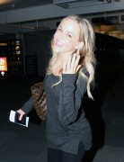 Julie Benz Pearson International Airport Toronto - May 8, 2012