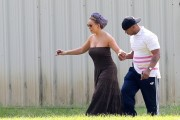 "Mariah Carey on the set of ""The Butler"" - 08/20/12"