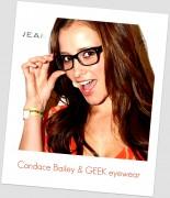 Candace Bailey - Geek Eyewear (3xHQ)